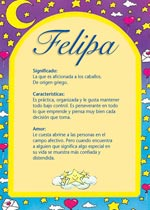 Nombre Felipa