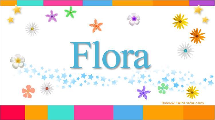 Flora, imagen de Flora