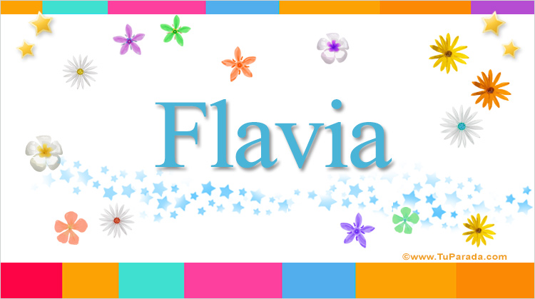 Flavia, imagen de Flavia