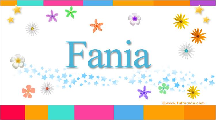 Fania, imagen de Fania