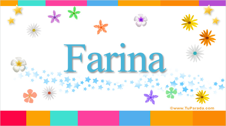 Farina, imagen de Farina