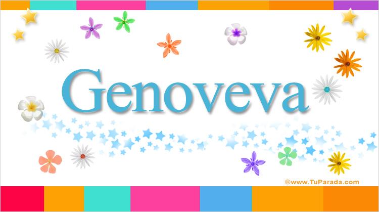 Genoveva, imagen de Genoveva
