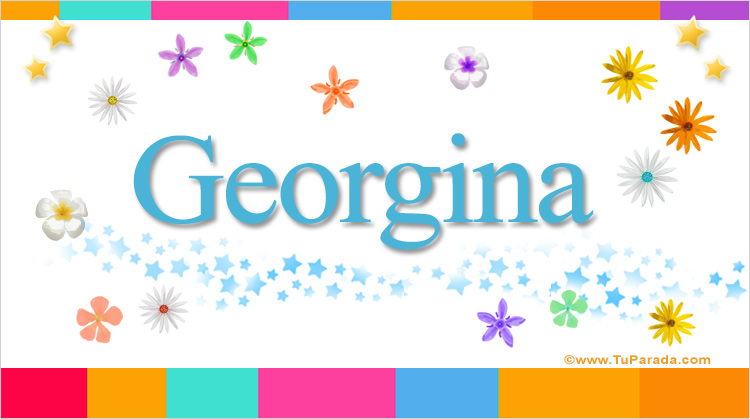 Georgina, imagen de Georgina
