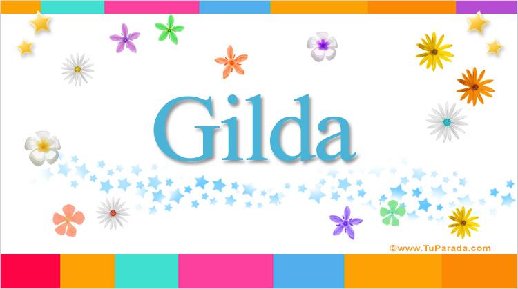 Gilda, imagen de Gilda
