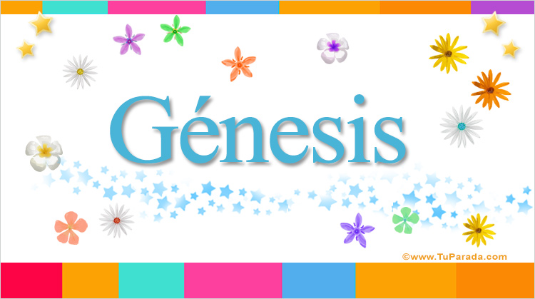 Génesis, imagen de Génesis