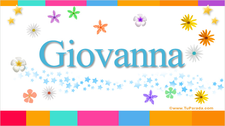 Giovanna, imagen de Giovanna