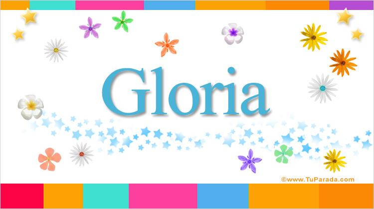 Gloria, imagen de Gloria