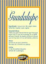 Origen y significado de Guadalupe