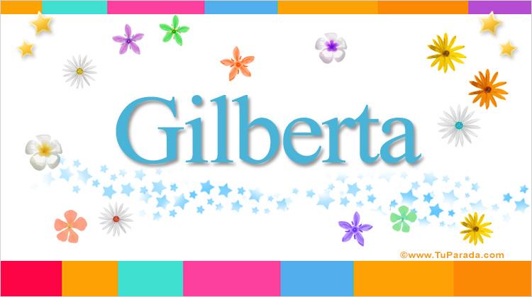 Gilberta, imagen de Gilberta