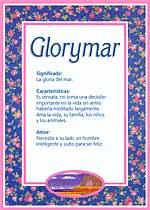 Nombre Glorymar