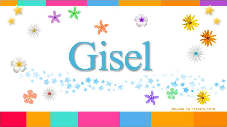 Gisel, imagen de Gisel
