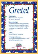 Nombre Gretel