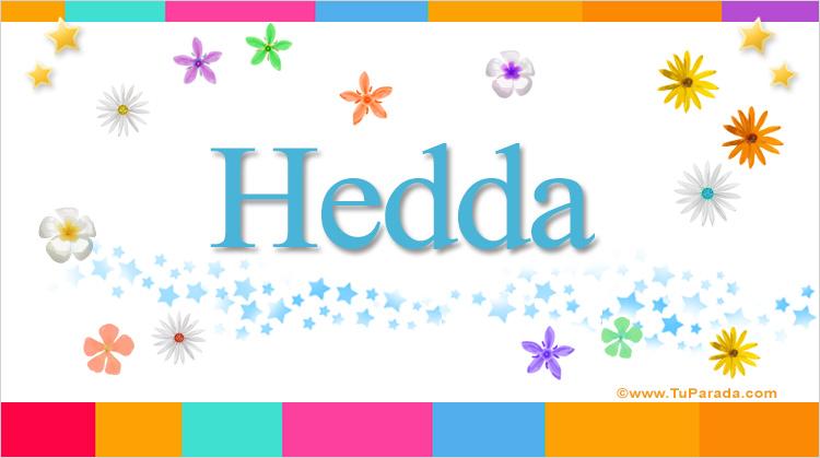 Hedda, imagen de Hedda