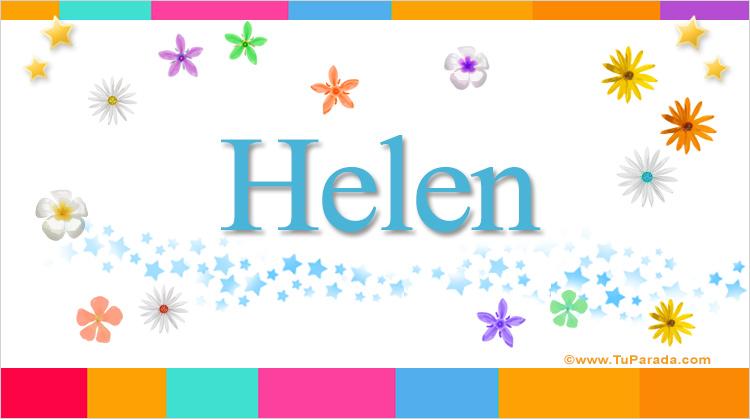 Helen, imagen de Helen