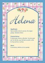 Nombre Helena