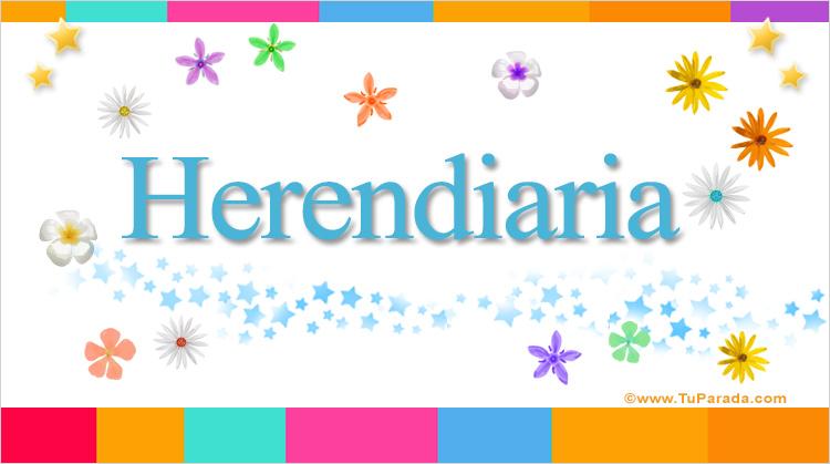 Herendiaria, imagen de Herendiaria