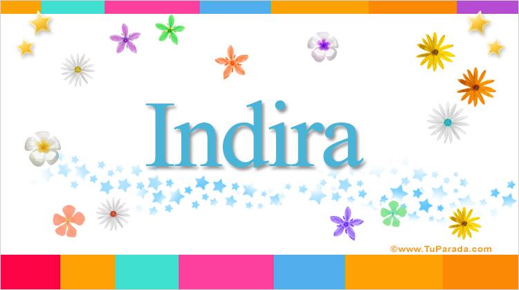 Indira, imagen de Indira