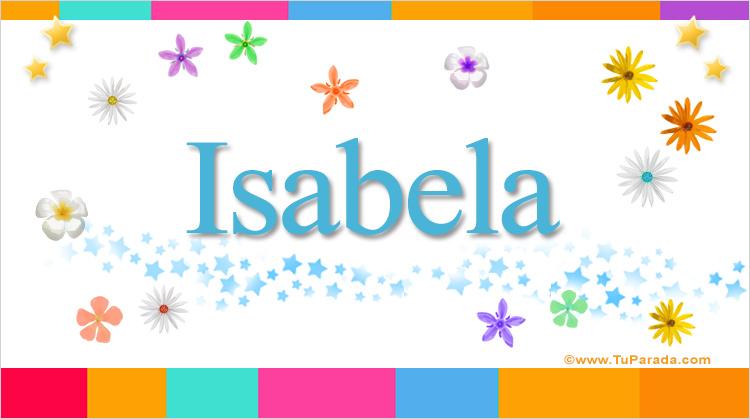 Isabela, imagen de Isabela