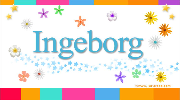 Ingeborg, imagen de Ingeborg
