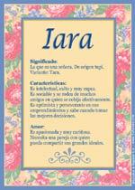 Origen y significado de Iara