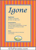 Nombre Igone