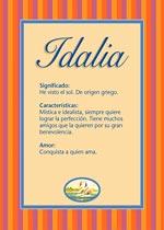 Nombre Idalia