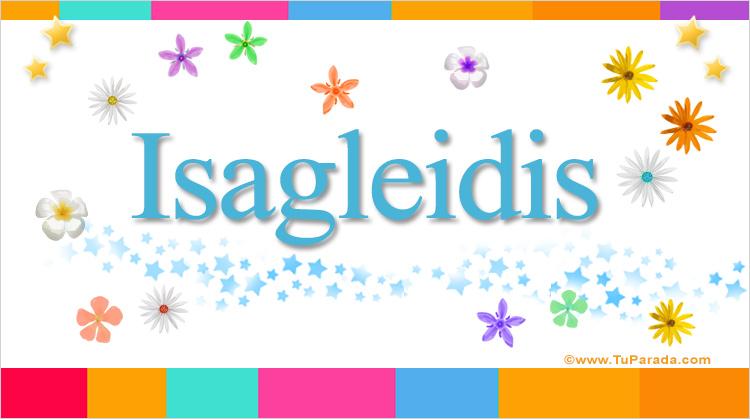 Isagleidis, imagen de Isagleidis
