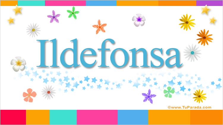 Ildefonsa, imagen de Ildefonsa