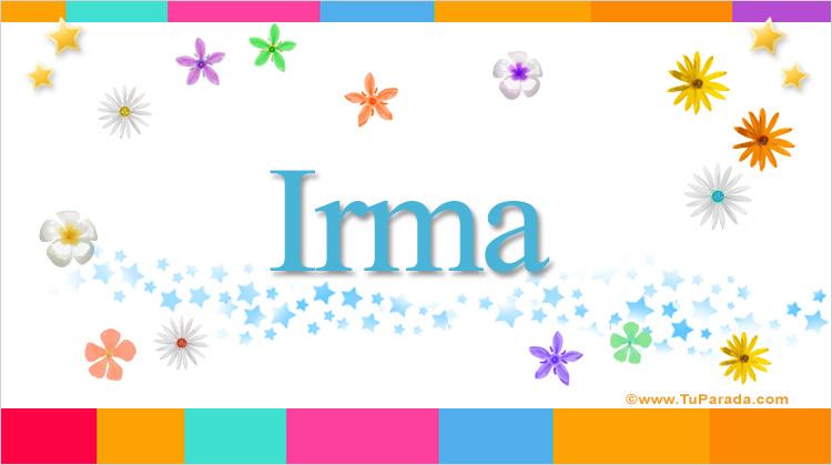 Irma, imagen de Irma