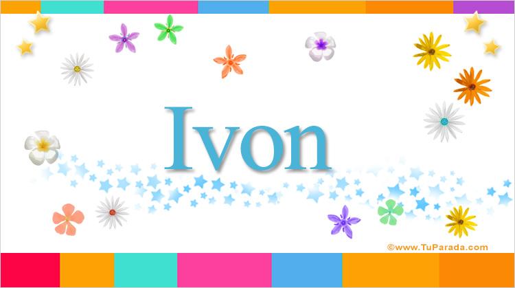 Ivon, imagen de Ivon