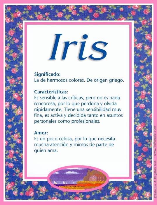 Iris, imagen de Iris