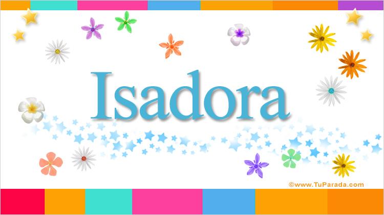 Isadora, imagen de Isadora