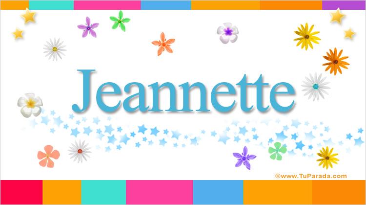 Jeannette, imagen de Jeannette