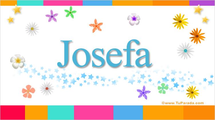 Josefa, imagen de Josefa