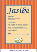 Nombre Jasibe