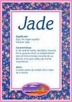 Nombre Jade