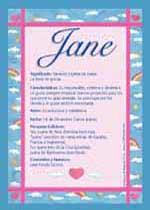 Nombre Jane