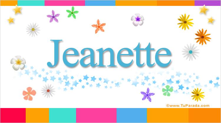 Jeanette, imagen de Jeanette