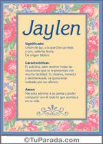 Nombre Jaylen