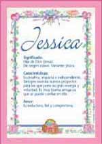 Nombre Jessica