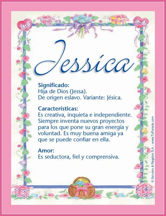 Jessica, imagen de Jessica