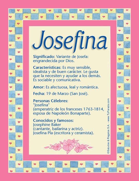 educating josefina