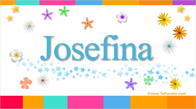 Josefina, imagen de Josefina