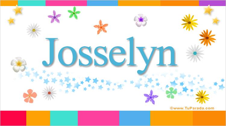 Josselyn, imagen de Josselyn