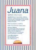 Nombre Juana