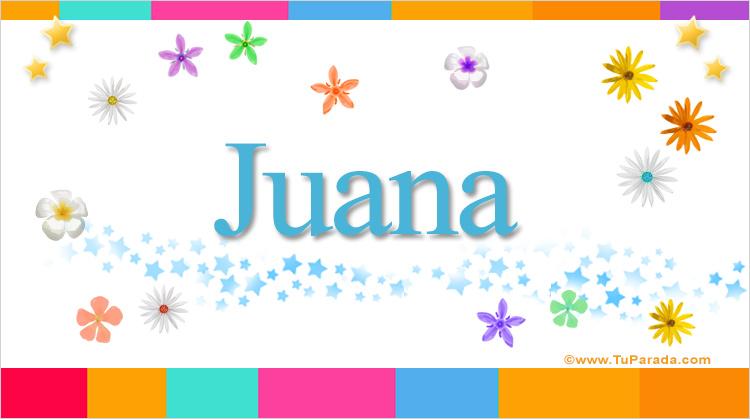 Juana, imagen de Juana