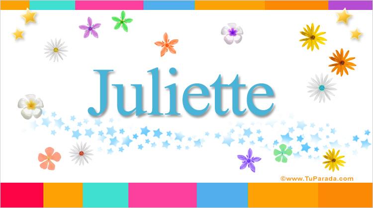 Juliette, imagen de Juliette