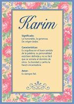 Nombre Karim