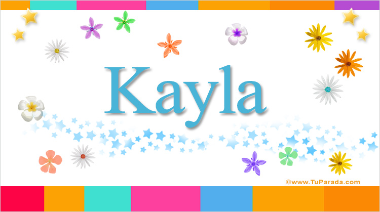 Kayla, imagen de Kayla