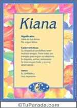 Nombre Kiana
